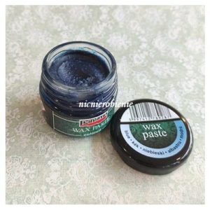 wosk metaliczny niebieski