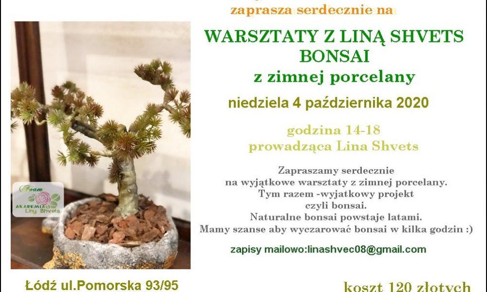 warsztaty bonsai zimna porcelana